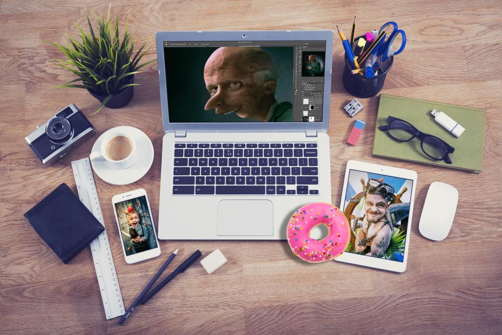 Mocup-Homepage