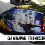 Car Wrapping, die Kunst Werbung zum Fahren zu bringen.