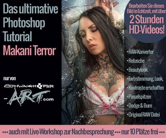 "Photoshop-Tutorial ""Makani Terror"""