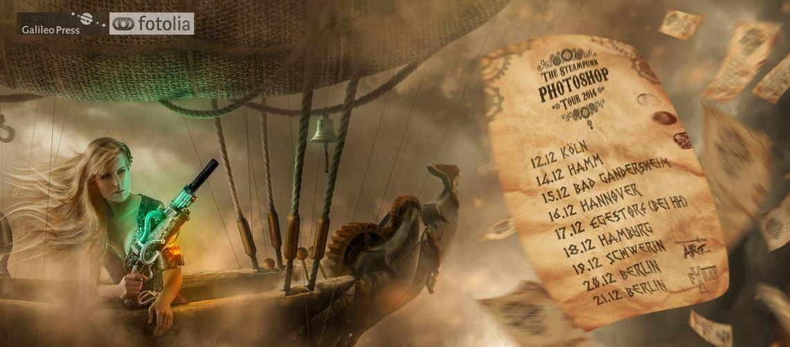 Die Steampunk Workshop-Tour 2014