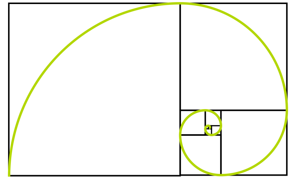 Fibonacci-Rechtecke-und-Spirale